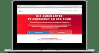 webdesign pflegedienst